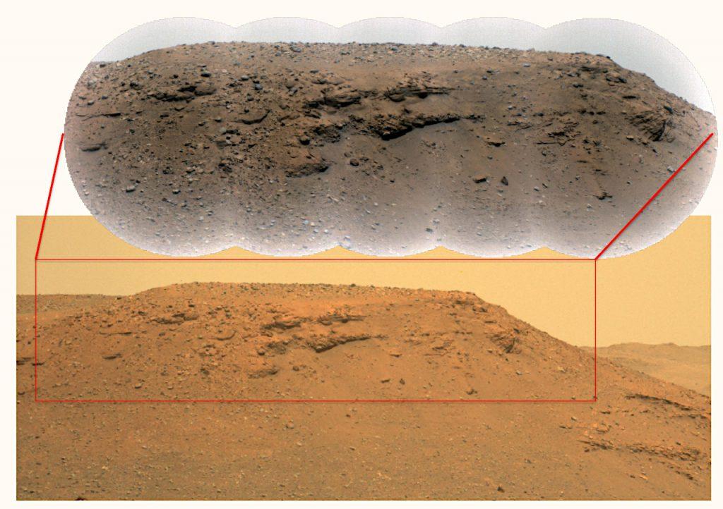 Image Credit: RMI: NASA/JPL-Caltech/LANL/CNES/CNRS/ASU/MSSS、Mastcam-Z: NASA/JPL-Caltech/ASU/MSSS